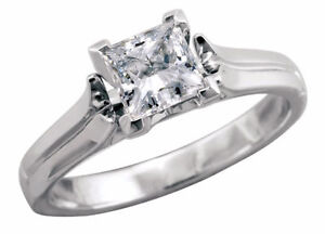.71ct princess cut Canadian diamond solitaire (brand new) Kitchener / Waterloo Kitchener Area image 2
