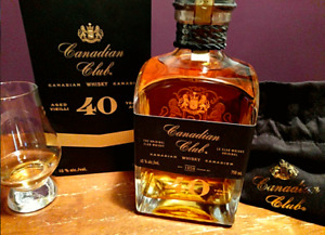 Canadian Club 40 Year Aged Whisky