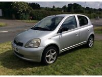 Toyota Yaris Long MOT & excellent runner