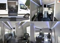 ULTIMATE Sprinter jet conversion-LUXURY AT ITS FINEST!