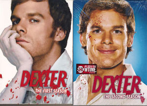 DEXTER SEASONS 1 & 2 DVD BOX SETS FACTORY SEALED