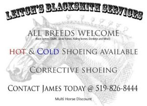 Blacksmithing/Farrier Services
