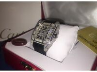 Cartier Santos 100 - Diamond Watch