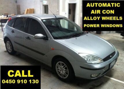 2002 Ford Focus LR LX Silver 4 Speed Automatic Hatchback