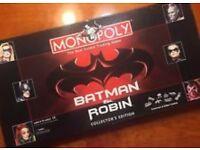 Batman and robin monopoly