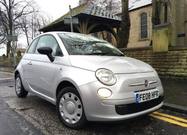 2008 Fiat 500 Pop 1.2 £30 Road Tax Full 11 Months Mot Parking Sensors Punto
