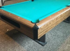 Wanting to trade a full sized slate pool table