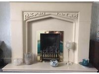 Fire surround and gas fire for sale