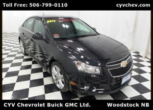2014 Chevrolet Cruze 2LT - RS Package w/Sunroof, 18 Alloys & Hea