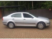 1 year mot skoda Octavia fsi 1.6 timming chain driven fsh 80k 08plate hatch back