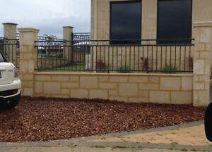 Walls ... Retaining walls ... Limestone Perth Perth City Area Preview