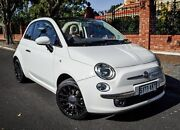 2010 Fiat 500C Series 1 Dualogic White 5 Speed Sports Automatic Single Clutch Convertible Medindie Walkerville Area Preview