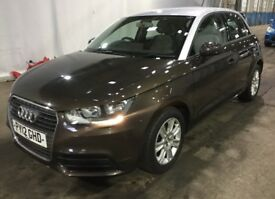2012 AUDI A1 1.6tdi 4 door cappuccino brown