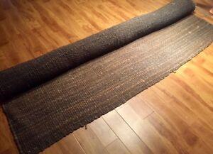 Supberbe tapis d'intérieur tressé gris 8 par 10