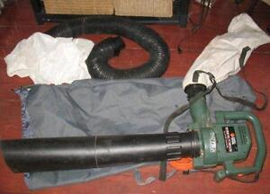 Leaf blower/mulching vac electric, another nozzle attachment not