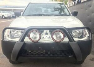 2013 Mitsubishi Triton MN MY13 GLX Double Cab White 5 Speed Manual Utility Berrimah Darwin City Preview