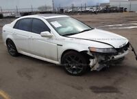 2007 Acura TL Type S (COMPLETE PARTOUT)