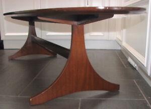 Retro Midcentury Table de Salon  OVAL long living room table