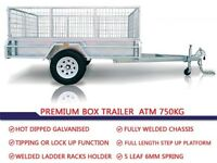7ft x 4ft galvanised trailer