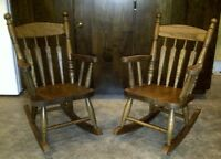 NEW AMISH MADE CHILDRENS TABLES, CHAIRS, ROCKERS