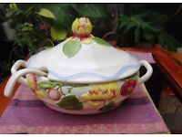 Vintage Soup Casserole Dish by Casual Dining MaryAnn Baker