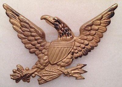 Civil War,  U.S. Marine Eagle M-1830 Brass Hat Pin, Unused *Bannermanns* *Super*