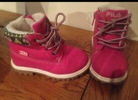 Fila girls infant shoes