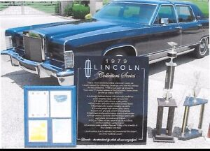 1979 Lincoln Continental Collector Edition