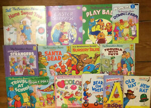 BERENSTAIN BEARS picture books $3 each or all 14 for $30