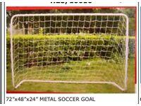 Brand new soccer goal posts