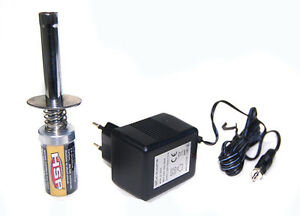 HSP-RC-Nitro-1-2-V-1800MAH-RECHARGEABLE-GLOW-PLUG-starter-Igniter-charger