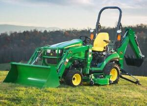 Mini Tractor & Backhoe Financing - Best Rates - $0 Down Payment - Quick Online Application - New Start-Ups Welcome