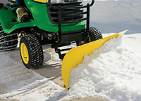 John Deere Snow Plow Attachment