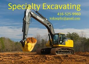 Excavation custom homes additions pools landscaping waterprofing Oakville / Halton Region Toronto (GTA) image 1