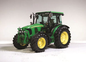 Case or John Deere Farm Tractor for Rent or Lease