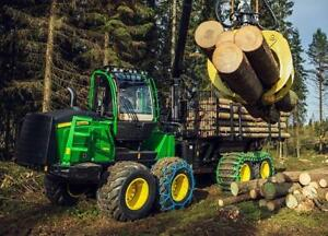Forestry Equipment Financing - Best Rates - $0 Down Payment - Quick Online Application - New or Used Equipment