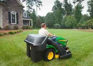 NEW JOHN DEERE MATERIAL COLLECTION - BAGGER KIT WITH POWER FLOW