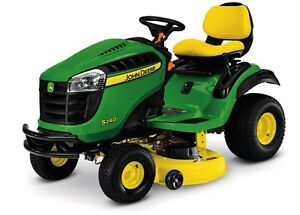 Looking for riding good mower