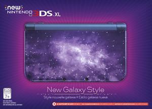 "NEW IN BOX  ""new Nintendo 3ds Xl galaxy"