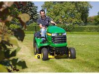 Ride on/Tractor mower John Deere X305r