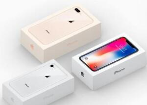 """Authentic"" Brand New Sealed Box Apple IPhone 8, 8+ Plus, & IPhone X 64G-256G, 1 Year AppleCare"