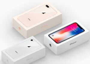 """""""STORE SALES"""" Sealed IPhone 8-8 Plus, IPhone X, 1 Year AppleCare"""