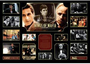 New Scarface Godfather Signed Limited Edition Oversized Memorabilia Framed