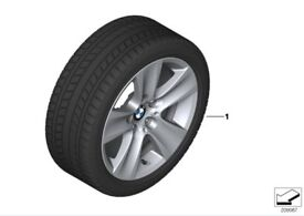 BMW Winter tyres with wheels