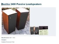 B+O Beovox 2400 Passive Loudspeakers