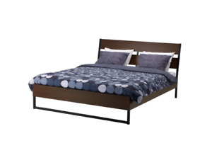 Queen Size IKEA Bed FOR SALE - Excellent condition