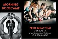Early morning bootcamp - Starts June 1