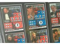 JAMES BOND - RARE Casino Royale photo scratchcard collection
