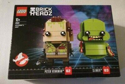 Original Lego Brickheadz 41622 Peter Venkman Slimer Ghostbuster - Ghostbuster Slimer