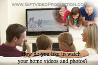 Family Home videos & Photoslideshows on DVD